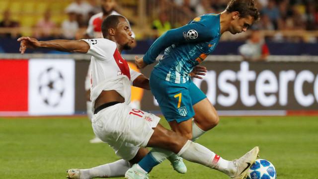 De virada, Atlético de Madrid vence Monaco fora de casa