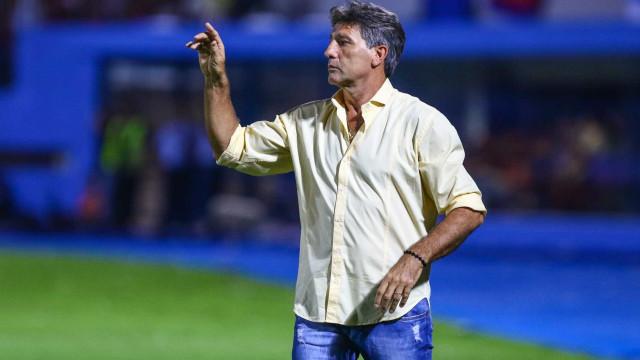 Renato valoriza vitória do Grêmio com time alternativo