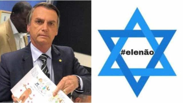 Grupo de judeus brasileiros fazem abaixo-assinado contra Bolsonaro