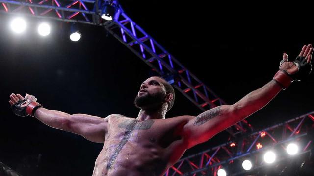 Marreta nega ser fenômeno do MMA e se descreve como 'cara esforçado'