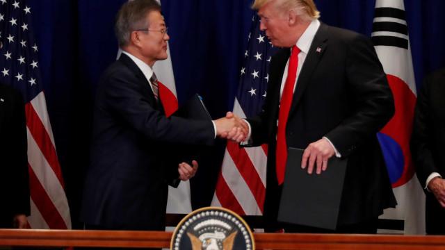 EUA e Coreia do Sul assinam acordo de livre-comércio revisado