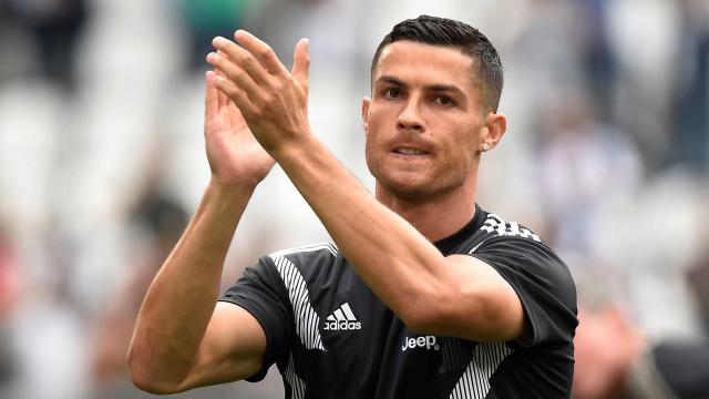 Após expulsão na Juve, Cristiano Ronaldo leva só 1 jogo de suspensão