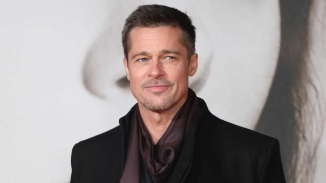 Brad Pitt faz rara aparição pública
