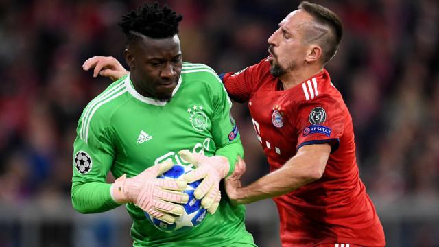 Ajax arranca empate com o Bayern na Alemanha e lidera o Grupo E