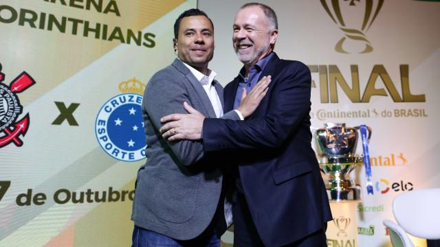 Cruzeiro e Corinthians decidem Copa do Brasil com planejamentos opostos