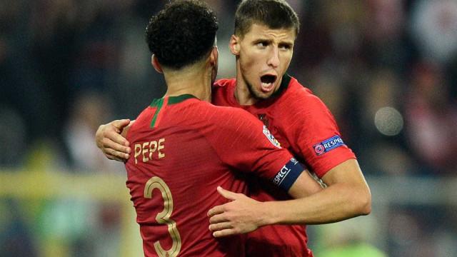 Sem Cristiano Ronaldo, Portugal bate Polônia na Liga das Nações