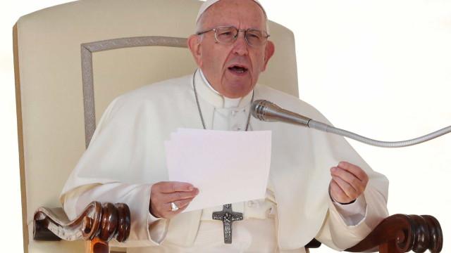 Papa manda mensagem ao Brasil por dia de Nossa Senhora