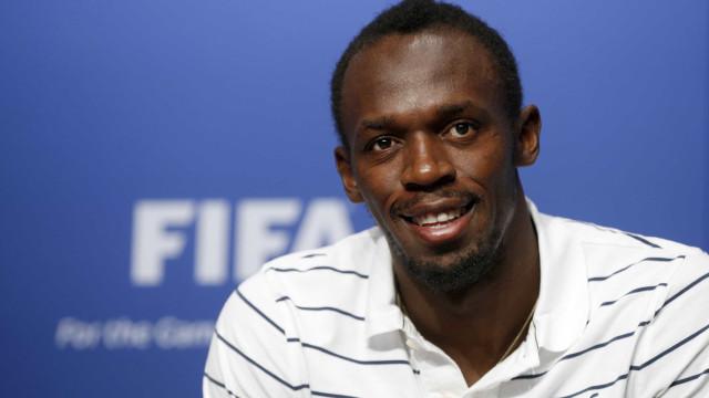 Após marcar 2 gols, Usain Bolt fica surpreso com exame antidoping