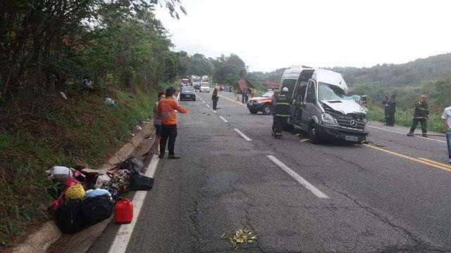 Acidente na BR-381, em MG, deixa seis mortos e nove feridos
