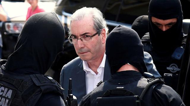 Eduardo Cunha está abatido na prisão