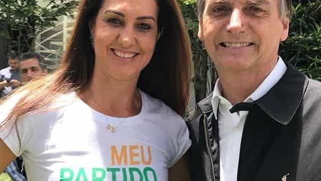 Bolsonaro recebe apoio de Fernanda Venturini, esposa de Bernardinho