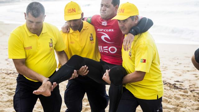 Após sofrer lesão, 'Mineirinho' se afasta do surfe por seis meses