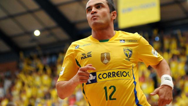 Falcão anuncia adeus à seleção de futsal após 20 anos de carreira