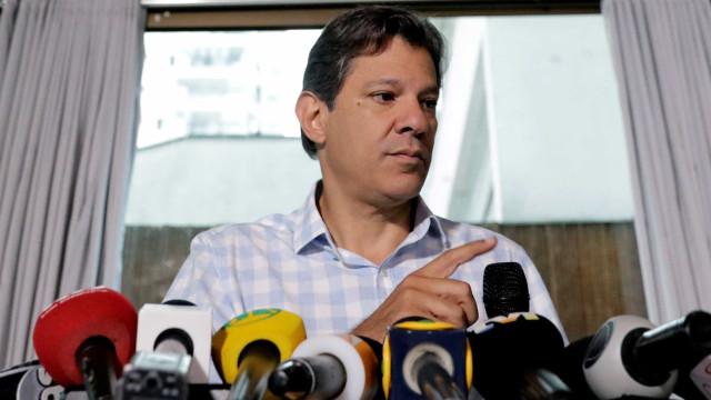 Haddad diz que campanha deste ano é 'a mais baixa de todos os tempos'