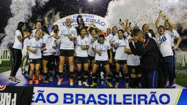 Corinthians goleia Rio Preto e fatura pela 1ª vez o Brasileiro feminino