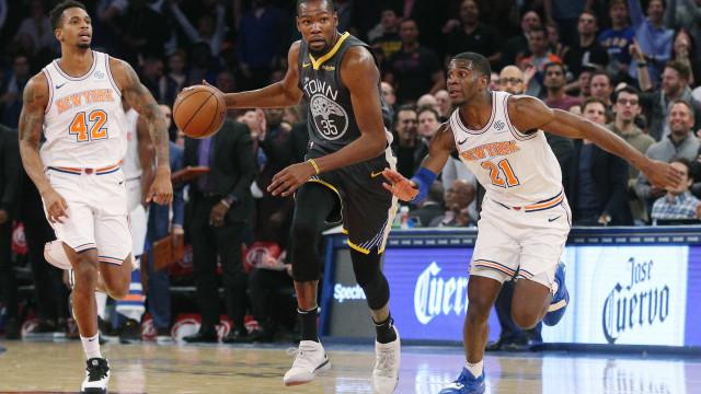 Durant faz 41 pontos na vitória do Warriors; Toronto vence a 6ª seguida