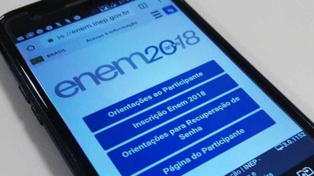 Quase 3 milhões de alunos já confirmaram a inscrição para o Enem