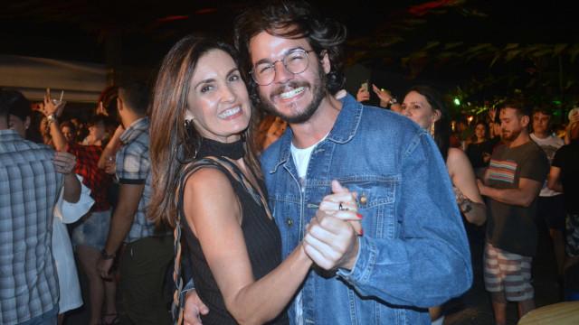 Fátima Bernardes e Túlio Gadêlha comemoram 1º aniversário de namoro