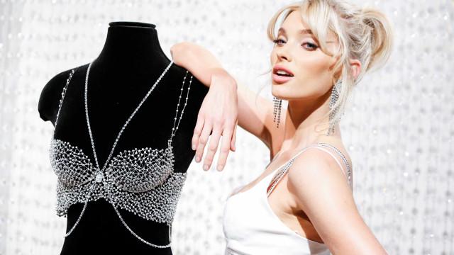 Sueca desfilará sutiã da Victoria's Secret avaliado em US$ 1 milhão