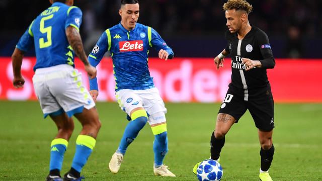 PSG empata com Napoli e perde chance de liderar grupo na Champions