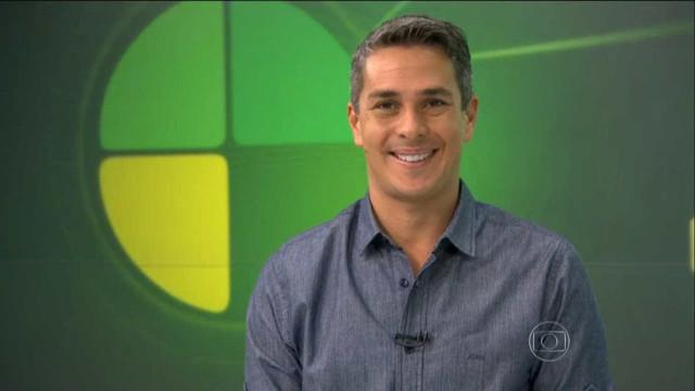 Jornalista esportivo da Globo sofre acidente de bicicleta