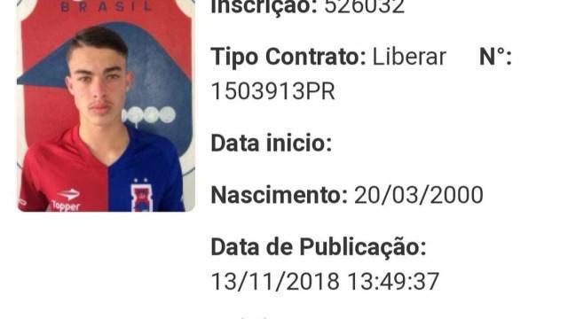 Suspeito de participar do assassinato de Daniel era jogador do Paraná