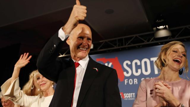 Após recontagem, republicanos vencem disputas na Flórida