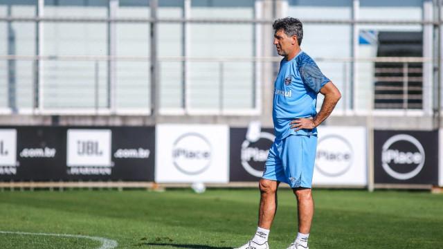 Grêmio aguarda definição de Renato Gaúcho sobre renovação de contrato