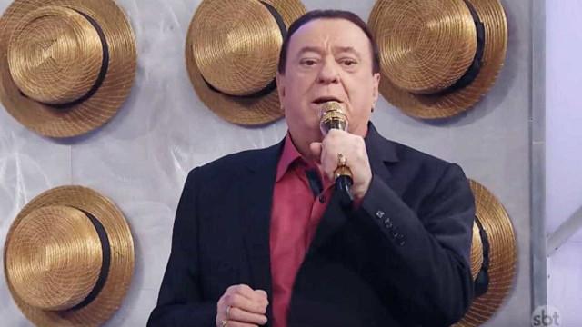 Raul Gil passa mal após repercussão de polêmica com Maisa Silva