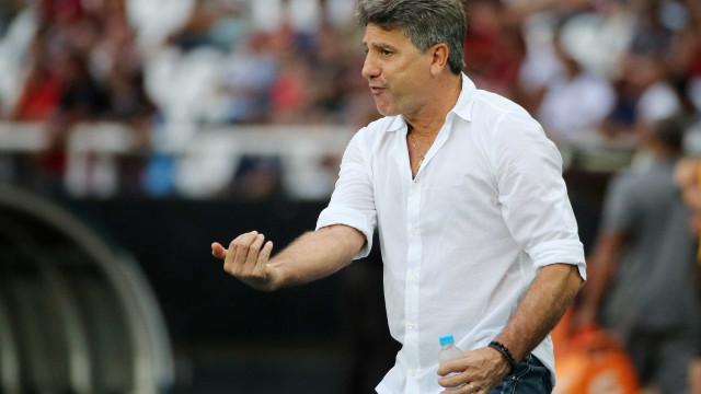 No Grêmio, Renato diz que mantém sonho de treinar o Flamengo