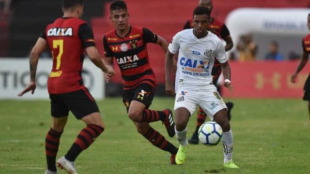 Sport vence o Santos na despedida de Cuca, mas cai para a Série B