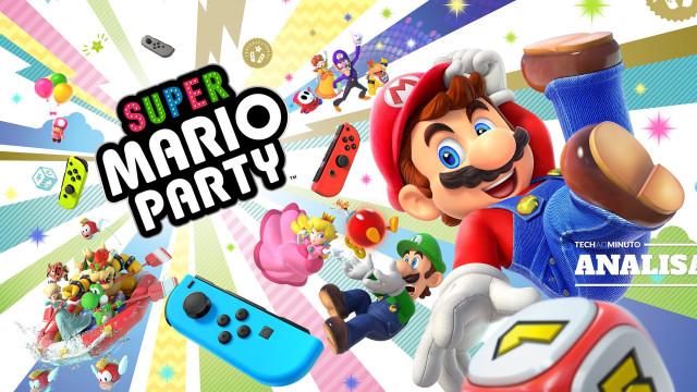 Conheça o Super Mario Party e anime o seu fim de ano
