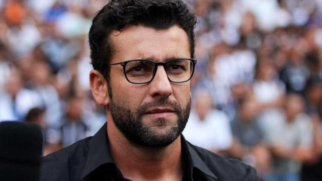 Alberto Valentim segue como técnico do Vasco em 2019
