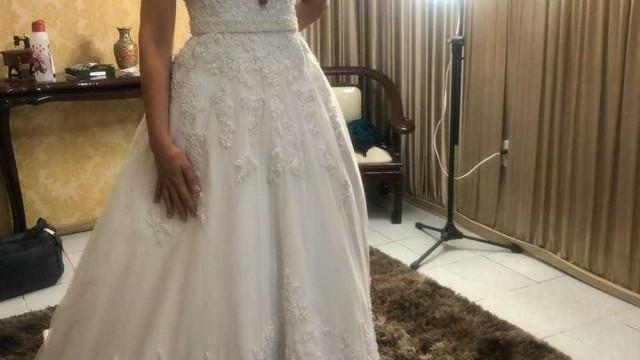 Noiva tem vestido roubado no dia do casamento em Fortaleza