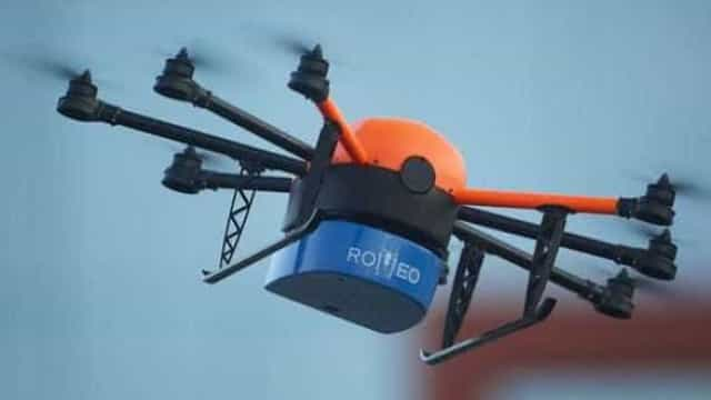 Voos de drones serão suspensos entre 29 de dezembro e 2 de janeiro
