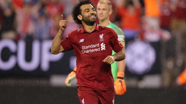 Salah, Mané e Aubameyang são finalistas a melhor jogador da África