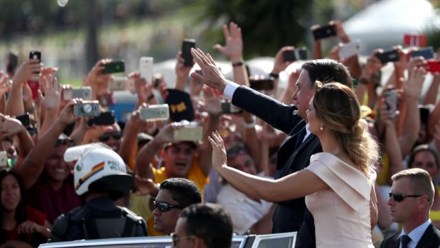 Gabinete de Segurança estima público de 115 mil na posse de Bolsonaro