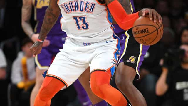 Paul George brilha e Thunder vence Lakers fora de casa na NBA
