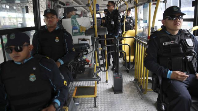 Esquema de segurança tenta normalizar transporte público em Fortaleza