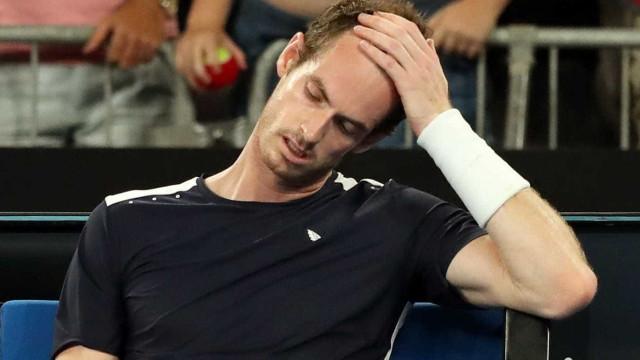 Após anunciar aposentadoria, Murray perde estreia na Austrália