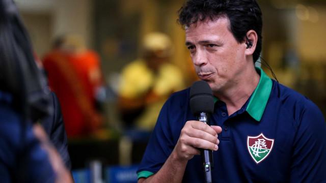 Fernando Diniz promete Flu competitivo e torce por chegada de Ganso