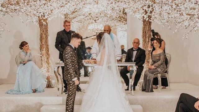 Saulo Pôncio e Gabi Brandt se casam no Copacabana Palace