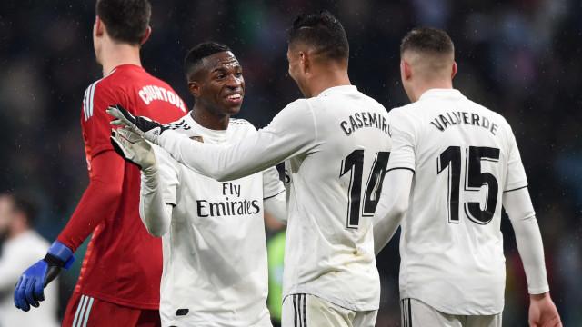 Real Madrid vence o Sevilla e assume o 3º lugar do Espanhol