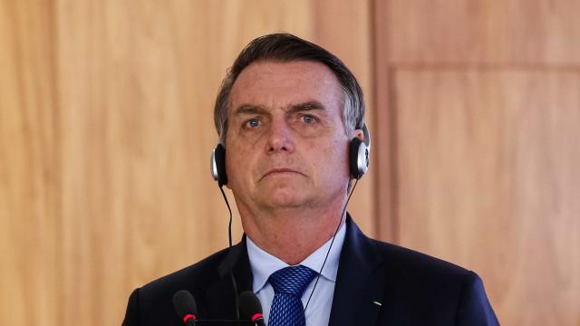 Entrevista coletiva de Bolsonaro 'some' da agenda oficial de Davos
