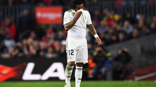 Marcelo perde espaço no Real por estar acima do peso, diz rádio