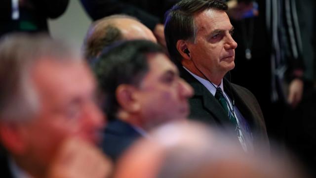 Bolsonaro cancela repentinamente entrevista coletiva em Davos