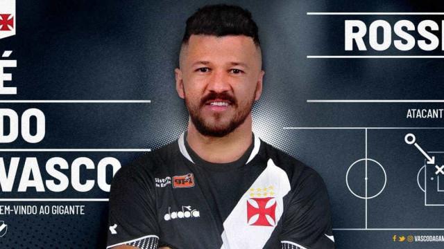 Vasco anuncia a contratação por empréstimo do atacante Rossi