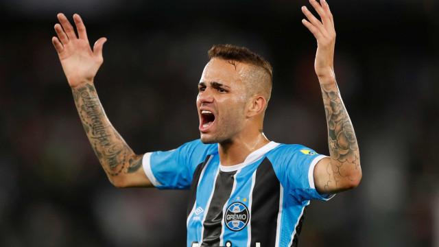 Luan desconversa sobre Cruzeiro e diz estar 'muito feliz' no Grêmio