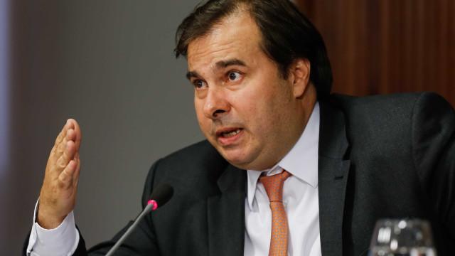 Solidariedade oficializa apoio à reeleição de Rodrigo Maia na Câmara