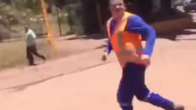 Vídeo mostra desespero de funcionários após rompimento de barragem